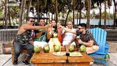 Em clima de férias, Se Liga VM recebe fãs no primeiro programa do ano - Niara Meireles e Daniel Viana conversam com Weverton, Diego e Marcílio cheios de descontração