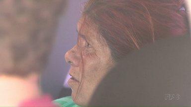 Maria Paraguaia presta depoimento à Polícia Federal - Ela está presa desde outubro suspeita de tráfico de crianças.