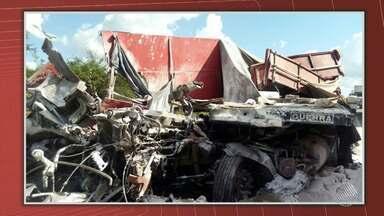 Acidente de trânsito deixa um morto na BR-116, no sudoeste do estado - O acidente foi no trecho de Jaguaquara; confira os detalhes.