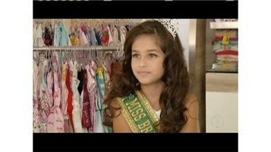 Menina de Coronel Fabriciano é eleita a Miss Brasil Juvenil de 2017 - A Bárbara tem apenas 10 anos.