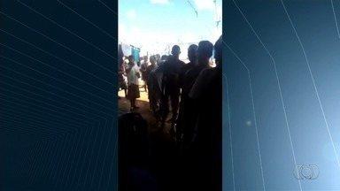 Diretora do regime semiaberto é afastada após vídeo de festa com drogas e bebida - Presos fizeram três rebeliões em uma semana no Complexo Prisional de Aparecida de Goiânia.