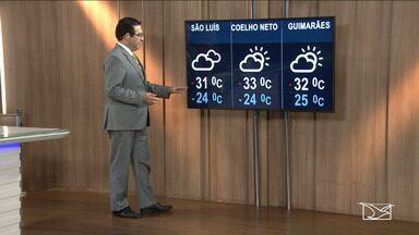 Veja a previsão do tempo nesta segunda-feira (8) no MA - Confira a como deve ficar o tempo e a temperatura em São Luís e no Maranhão.