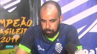 CSA volta aos treinos e se prepara para segundo amistoso contra o Coruripe - Elenco azulino também está de olho na estreia da Copa do Nordeste