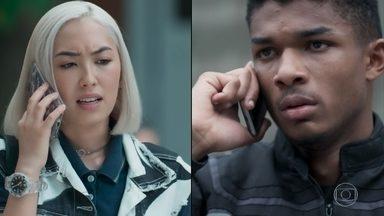 Anderson diz a Tina que não aguentará mais ser humilhado por Mitsuko - Tina liga para o namorado para falar sobre o novo clipe dos Lagostins e fica sem saber o que houve. A gata decide ir ao hospital confrontar a mãe