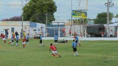 Primeiro GreNal da Copa Santiago 2018 tem vitória do Inter - O resultado foi 4 Inter x Grêmio 1.