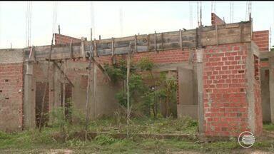 Obra de posto de saúde é abandonada na Zona Sul de Teresina - Obra de posto de saúde é abandonada na Zona Sul de Teresina