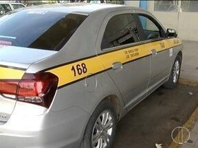 Vistoria anual obrigatória da frota de táxis é realizada em Montes Claros - Ao todo, 198 taxi participaram da vistoria na cidade.