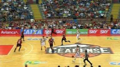 Flamengo vence confronto contra Basquete Cearense - Flamengo vence confronto contra Basquete Cearense
