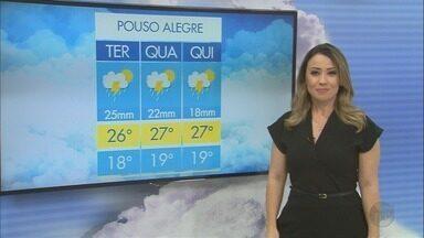 Confira a previsão do tempo para esta terça-feira (16) no Sul de Minas - Confira a previsão do tempo para esta terça-feira (16) no Sul de Minas