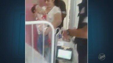 Bebê com atrofia muscular espinhal volta para casa após oito meses internada em Piracicaba - Santa Casa da cidade recebeu a menina Valentina.