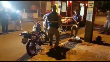 Identificado motociclista que se envolveu em grave acidente neste domingo em Foz - Vítima segue internada no hospital municipal de Foz do Iguaçu. Família não autoriza a divulgação do estado de saúde.