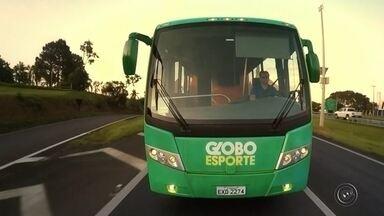 Lins recebe nesta quarta-feira a caravana do Globo Esporte - Nesta quarta-feira, a parada do ônibus do Globo Esporte vai ser na cidade de Lins.
