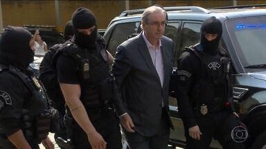 MP pede pena de quase 400 anos para Eduardo Cunha - Condenação foi recomendada em relatório final da operação que investigou os investimentos dos recursos do fundo de garantia.
