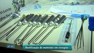 Secretário de Segurança Pública do ES fala sobre operação 'Lama Cirúrgica' - Empresários que reutilizavam materiais descartáveis como se fossem novos foram presos.