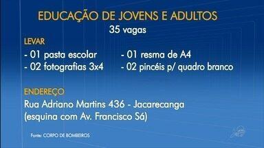 Colégio Militar do Corpo de Bombeiros abre 35 vagas para escolarização de jovens e adultos - Saiba mais em g1.com.br/ce