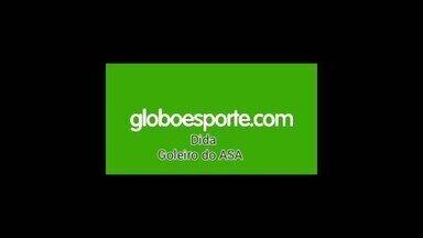 Dida não esconde a expectativa para começar o Campeonato Alagoano - Goleiro do ASA fala sobre a preparação da equipe para disputa do estadual