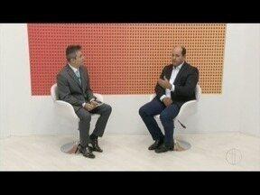 Prefeito de Governador Valadares participa de entrevista no MG Inter TV - Prefeito falou sobre mobilidade urbana, aeroporto e outros assuntos.