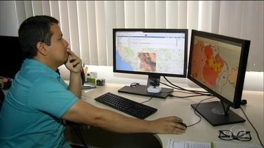 Satélite ajuda a monitorar desmatamento com mais precisão - Instituto usa radar da Agência Espacial Europeia, capaz de monitorar terremotos e vulcões. Tecnologia tem um alvo especifico: madeireiros.