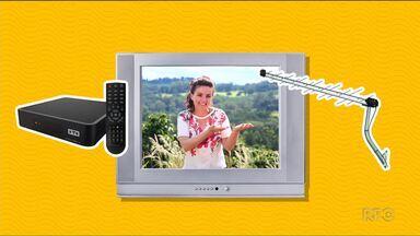 Você tem 12 dias para se preparar para a TV digital - O desligamento do sinal analógico está marcado para o dia 31 de janeiro.