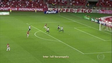 Internacional e Palmeiras vencem pelos Campeonatos Estaduais - Internacional e Palmeiras vencem pelos Campeonatos Estaduais