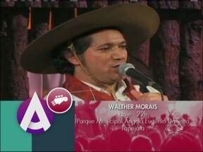Walther Morais faz show em Tapejara, RS - Programação do Rodeio Internacional vai até domingo