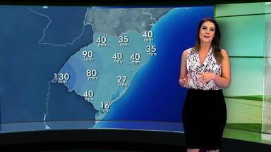 Tempo: chuvas previstas para a próxima semana são positivas para plantio de milho no RS - Assista ao vídeo.