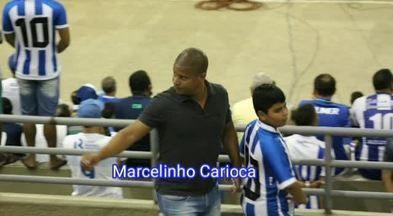 Marcelinho Carioca fala sobre parceria com o CSA - Ex-jogador do Corinthians está em Maceió, onde firmou acordo com o Azulão