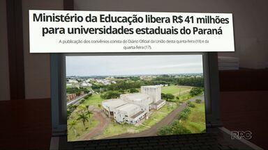 Unicentro vai receber mais de 3 milhões para investimentos do Governo Federal - O recurso foi liberado pelo Ministério da Educação no fim do ano passado.