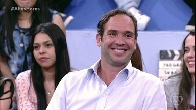 Caio Ribeiro e sua elegância nos xingamentos - Para comentarista, palavrões são liberados apenas nos estádios