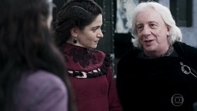 Augusto retorna a Artena - O rei traz Mirtes, prima de Catarina