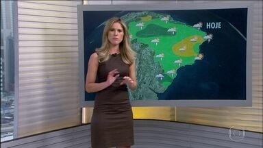Veja a previsão do tempo para esta terça-feira (23) em todo o Brasil - Chuva forte pode chegar a partir da tarde em quase todo o país, principalmente no RJ e em SP, depois de dia de calorão intenso.