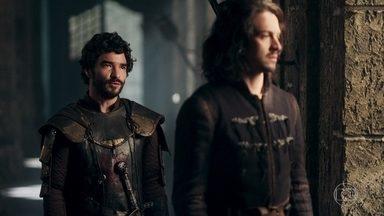 Cássio diz que teme pelo futuro de Montemor - O comandante diz que Rodolfo não está preparado para governar um reino como Montemor