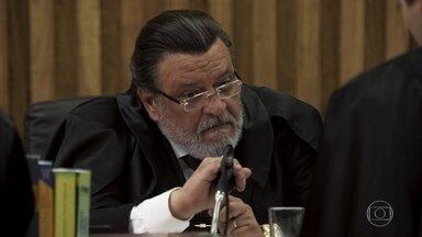 Abel e Patrick questionam Gustavo sobre o pedido de Duda - O juiz aceita o pedido da ré de dar um novo depoimento
