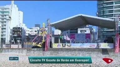 Arena da TV Gazeta chega a Guarapari - Sábado (27) será de animação nas areias da Praia do Morro.