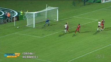 Coritiba e Rio Branco fecham com o empate a segunda rodada do Campeonato Paranaense - Veja quais são os próximos jogos do campeonato.