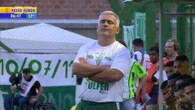 Técnico do Avenida, Fabiano Daitx, quer mostrar serviço no time de Santa Cruz - Assista ao vídeo.