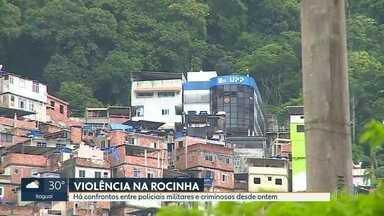 Nos últimos 4 meses de ação da polícia, 34 pessoas foram mortas na Rocinha - G1 realizou um levantamento, nos quatro meses, 34 pessoas morreram em ações policiais na Rocinha.