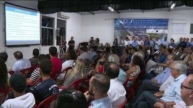 Reunião apresenta projeto do Porto de Presidente Kennedy, ES - Liberação da licença que falta pelo Ibama está prevista para 2019.