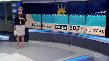 Pré-sal já abastece metade da produção nacional de petróleo - Marca foi atingida em dezembro segundo a ANP.
