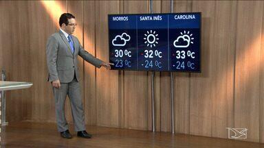 Veja a previsão do tempo nesta quinta-feira (1º) no MA - Confira como deve ficar o tempo e a temperatura em São Luís e no Maranhão.