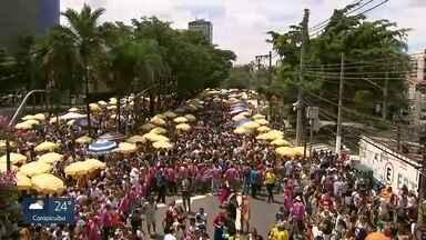 SP1 - Edição de sábado, 3/2/2017 - As ruas da capital já estão tomadas por foliões atrás dos blocos de carnaval. Mais de 100 desfilam neste sábado (3). E mais as notícias da manhã.