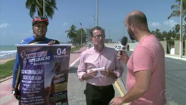 II etapa do Circuito de Integração de Ciclismo é realizada no domingo - Ao todo vão ser 12 etapas organizadas pela Associação Alagoana de Ciclismo