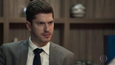 Bruno não consegue nenhuma pista sobre o paradeiro de Tônia - Isabel e Nádia discutem sobre a festa de casamento de Diego e Melissa. Raquel pergunta se Bruno está escondendo algo