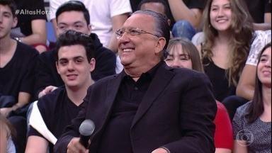 Galvão fala sobre a paixão pelo esporte - Além de narrar, ele conta que praticou todos os esportes