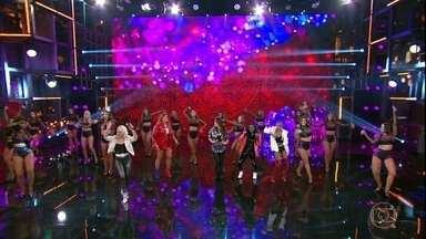 Rouge canta novo sucesso 'Bailando' - Meninas retornaram aos palcos em 2017