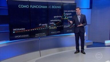Samy Dana comenta a queda no preço do bitcoin - Moeda virtual se desvalorizou mais de 65% em 45 dias