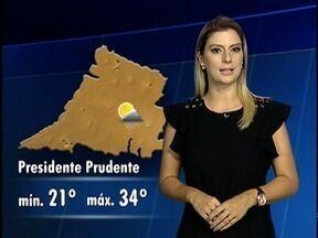 Confira a previsão do tempo para o Oeste Paulista - Veja como fica a temperatura em algumas cidades.