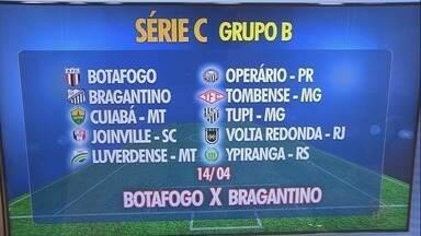 CBF divulga grupos e a tabela da Série C do Campeonato Brasileiro - Botafogo-SP está no Grupo B, ao lado de Bragantino, Operário, Ypiranga, Joinville-SC, Volta Redonda, Tombense, Tupi, Luverdense e Cuiabá.