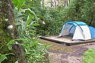 Reservas para visitar camping do Parque das Neblinas durante o carnaval estão abertas - Para participar é preciso agendar pela internet a a diária custa R$ 40.