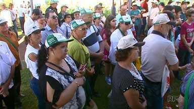 Caravanas de todo país participam do Show Rural - Agricultores buscam aprender novas técnicas.